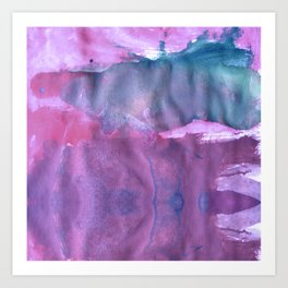 blurred Art Print