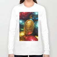 easter Long Sleeve T-shirts featuring Easter by habish