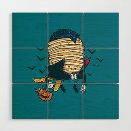 Spooky Pancake Wood Wall Art