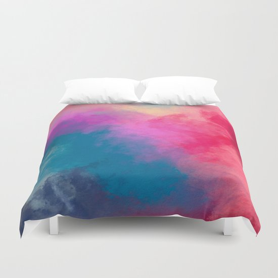 Abstract 01 Duvet Cover
