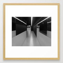 Hallways and Forever Framed Art Print