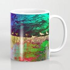 golden seagull Mug