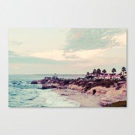 San Diego Beach Fine Art Print Canvas Print