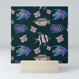 Mysterious underwater world Mini Art Print