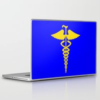 house md Laptop & iPad Skins featuring House M.D. by dutyfreak