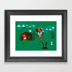 Chop! Framed Art Print
