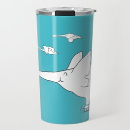 I'm like a swan Travel Mug