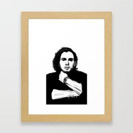 Kit Harington Framed Art Print