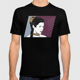 80s Princess Leia Slave Girl T-shirt