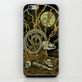 Hurtness iPhone Skin