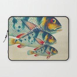 Fish Classic Designs 3 Laptop Sleeve