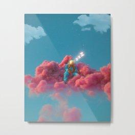 SleepyCloud Metal Print