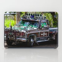 truck iPad Cases featuring Truck by Rafael Andres Badell Grau
