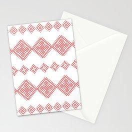 Pattern - Family Unit - Slavic symbol Stationery Cards