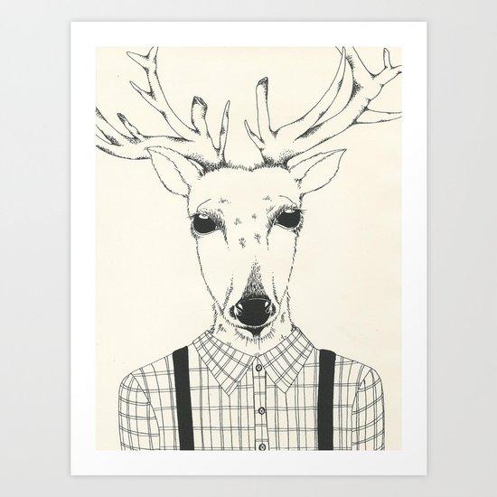 You're a Deer Art Print