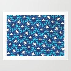 Arctic Blue Art Print