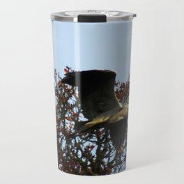 Heron Fly By Travel Mug