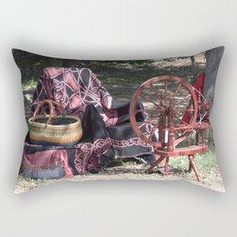 Spinning Wheel Rectangular Pillow