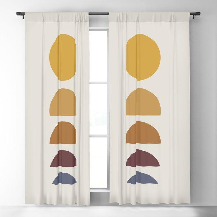 Minimal Sunrise / Sunset Blackout Curtain