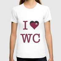 wesley bird T-shirts featuring I Heart Wesley Crusher by Illustrated by Jenny