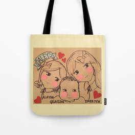Daleys - White Background Tote Bag