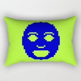 Pixel Face Rectangular Pillow