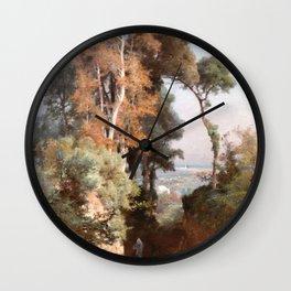 Jules Laurens - In Trebizond Countryside Wall Clock