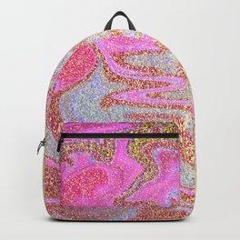 Glitter Marble Backpack