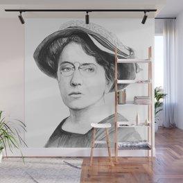 Emma Goldman Wall Mural