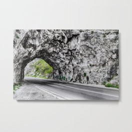 Road in Montenegro Metal Print