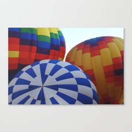 Hot Air Rising Canvas Print