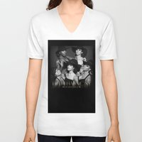 fifth harmony V-neck T-shirts featuring Fifth Harmony - Reflection by xamjx3