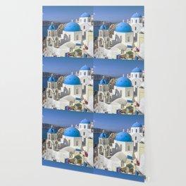 Santorini, Oia Village, Greece Wallpaper
