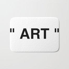 """"""" Art """" Bath Mat"""