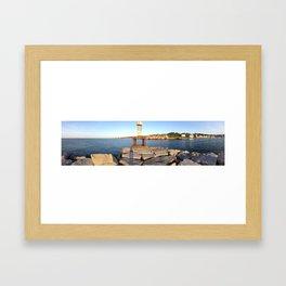 Harbor veiw Framed Art Print