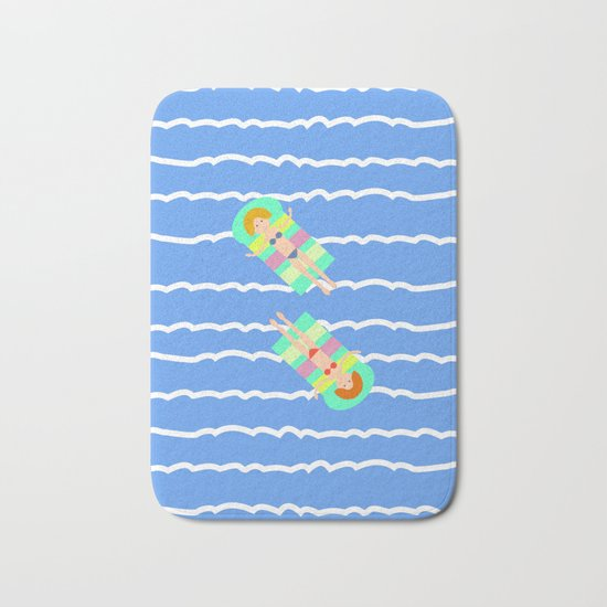 Floating Bath Mat