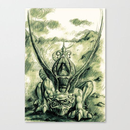 Primitive !! Canvas Print