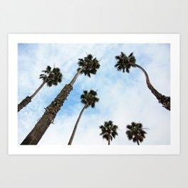 Palm tree Vibes Art Print