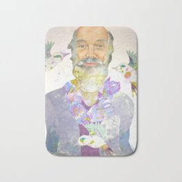 It's All Right Now...Ram Dass Bath Mat