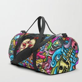 Gueisha Doodle Duffle Bag