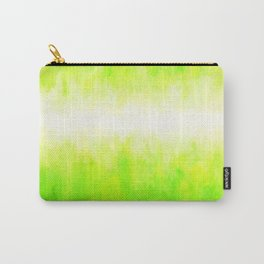 Neon Lemon Lime Abstract Carry-All Pouch