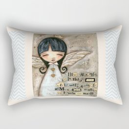 No Need To Wait - by Diane Duda Rectangular Pillow
