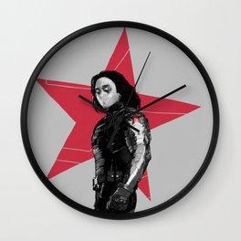 Winter S. Derek  Wall Clock