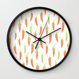 Chilies For Everyone! Wall Clock