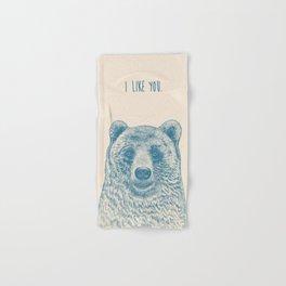 Bear (Ivory) Hand & Bath Towel