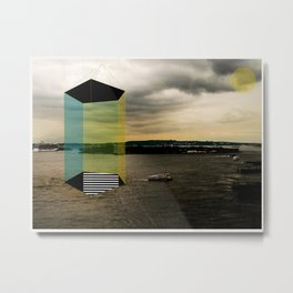 Hudson Urban Movin' Metal Print