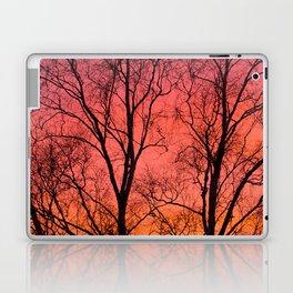 Tree Silhouttes Against The Sunset Sky #decor #society6 #homedecor Laptop & iPad Skin