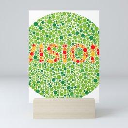 Colour Blindness Vision Mini Art Print