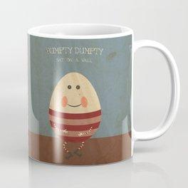 Humpty Dumpty. Children's Nursery Rhyme Inspired Artwork. Coffee Mug