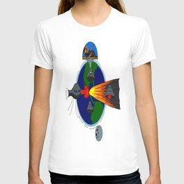 Mayan Astronauts T-shirt